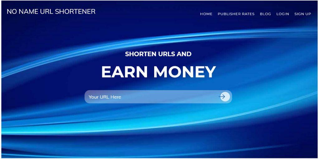 No Name URL Shortener